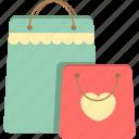 bag, grocery bag, paper bag, plastic bag, recycle bag, shopping bag icon