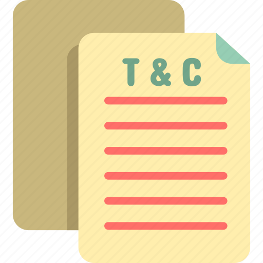 conditions, terms icon