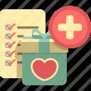 bookmark, list, shopping list, wishlist icon