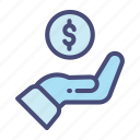 business, finance, marketing, money, office, payment, safe icon