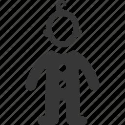 child, children clothing, kid icon