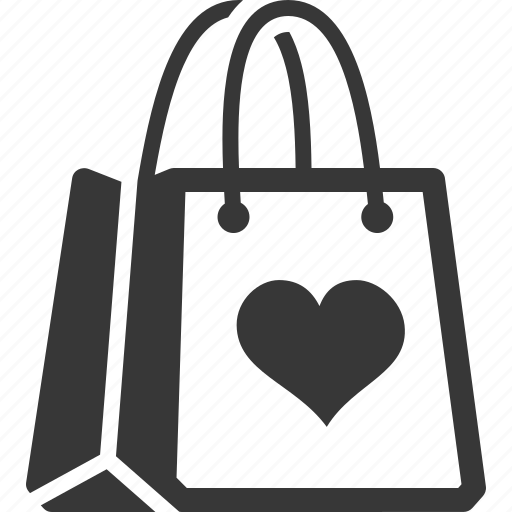 Favorite products, gift, shopping bag icon | Icon search ...