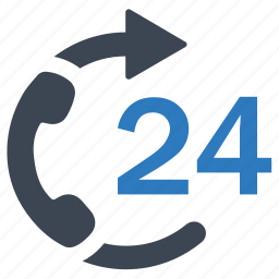customer, support, telephone icon