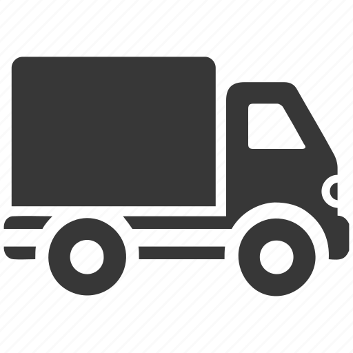 delivery van, shipping truck, transportation, truck icon