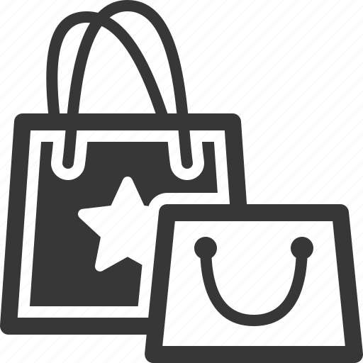 gift, shopping bags icon