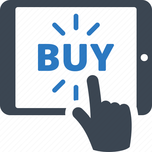 buy online, fees, online shopping, tablet icon
