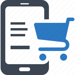 e-commerce, mobile shopping, online shop, online shopping icon