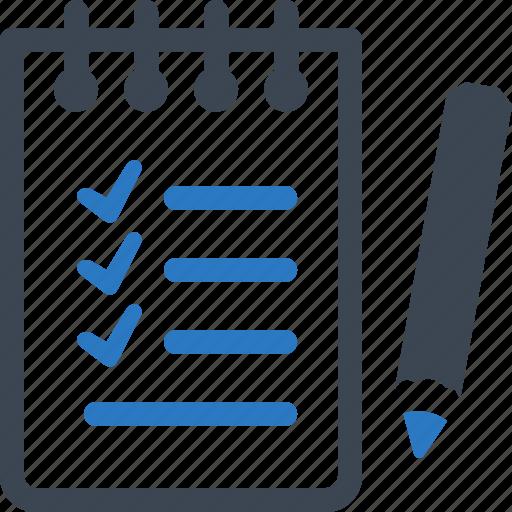 checklist, shopping list, tasks, wish list icon