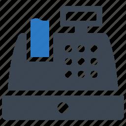 cash register, shopping icon