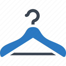 clothes hanger, size, sizing icon
