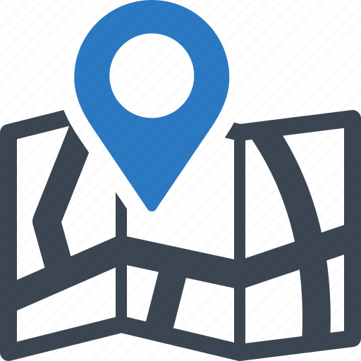 location, map, store locator icon