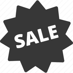 discount, sale, shopping, sticker icon