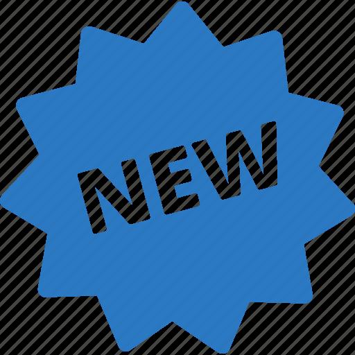 new, sticker icon