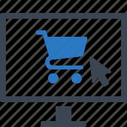 e-commerce, online shop, online shopping icon