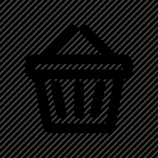 bag, basket, cart, commerce, ecommerce, shop, shopping icon