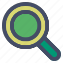 ecommerce, magnifier, search, view, zoom icon