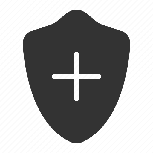 health, insurance, protection, shield icon