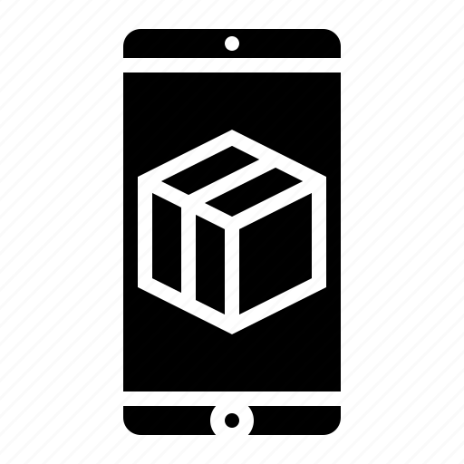 delivery, ecommerce, mobile, packaging, shipping icon