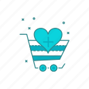 add, cart, favourite, like, select, wishlist icon