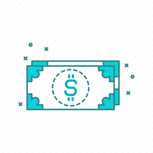 cash, currency, dollar, money, notes icon
