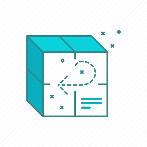 ecommerce, package, return, shopping icon