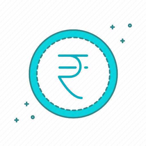 cash, coin, currency, money, rupees icon
