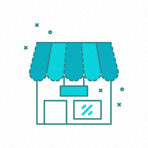 ecommerce, front, shop, shopping, store icon