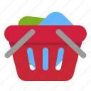 basket, commerce, e, full, shop, shopping icon