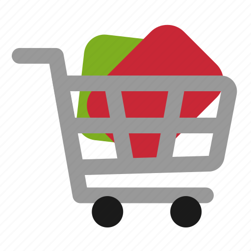 cart, commerce, e, full, shop, shopping icon