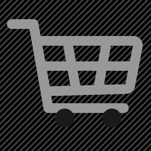 cart, commerce, e, empty, shop, shopping icon