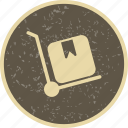 breifcase, retail, trolley icon
