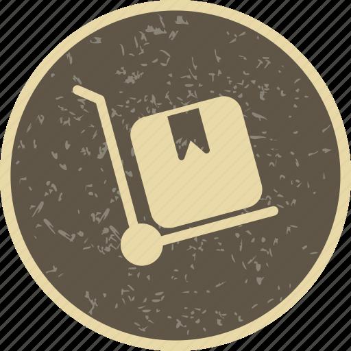 breifcase, ecommerce, retail, trolley icon