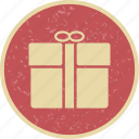 gift, gift box, parcel, present icon
