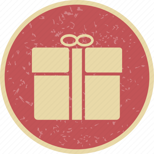 gift, parcel, present icon