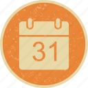 agenda, calendar, month, schedule icon