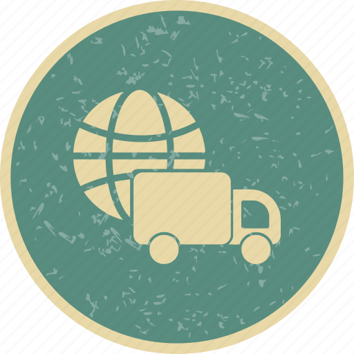 delivery, global delivery, logistic, shipping icon