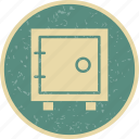 locker, safe, vault icon