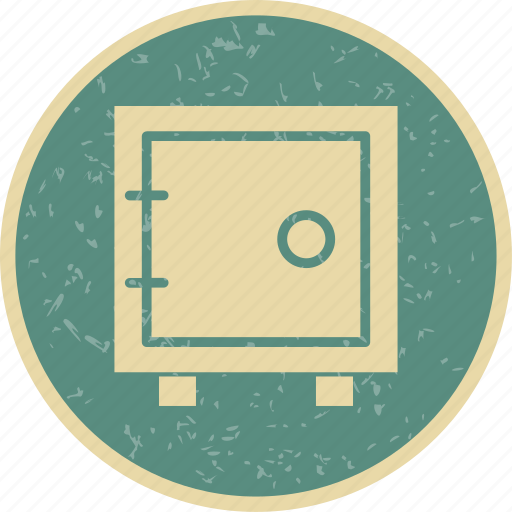 locker, safe, vault icon