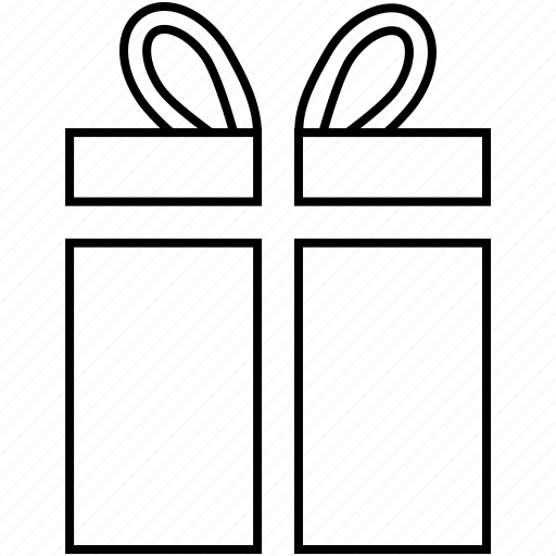birthday gift, christmas, gift, surprise gift, valentine gift icon