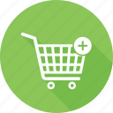 add to cart, online cart, plus, cart