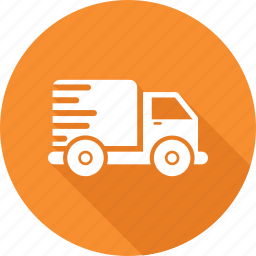 delivery, fast, intime, nonstop, shipment, timely, van icon