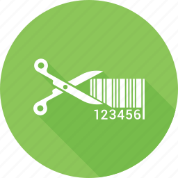 bargain, coupon, cut, cutting, discount, scissors icon