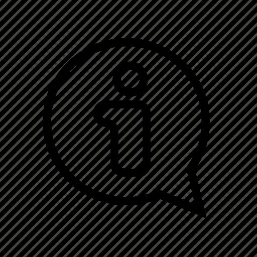 bubble, business, comment, help, info, online, product icon
