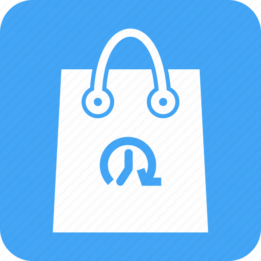 Bag, hand carry, limited time offer, purchase, shop, shopping, timer icon - Download on Iconfinder