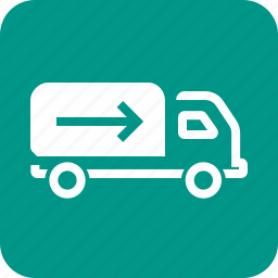 delivery, drive, lorry, shipment, transport, truck, vehicle icon