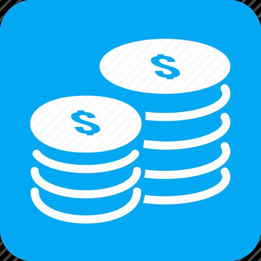 Cash, coin, dollar, heap, jackpot, money, stack icon - Download on Iconfinder