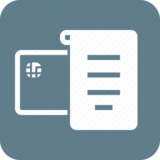 Bill, billing, invoice, list, note, paper, receipt icon - Download on Iconfinder
