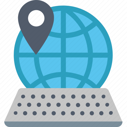 computer, distance, education, internet, learning, online, remote icon