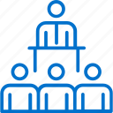audience, conference, message, speaker, speech, staff, training icon