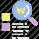 google, preschool, web search icon